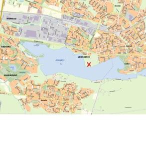 kaukajärvi kartta